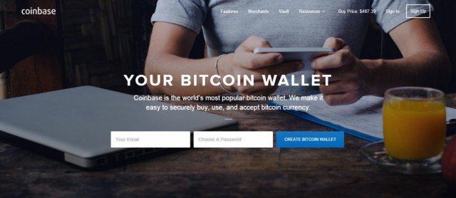 Coinbase - Bitcoin Exchanges