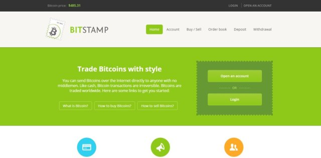 Bitstamp - Bitcoin Exchanges