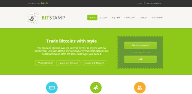 Bitstamp -Bitcoin Exchanges
