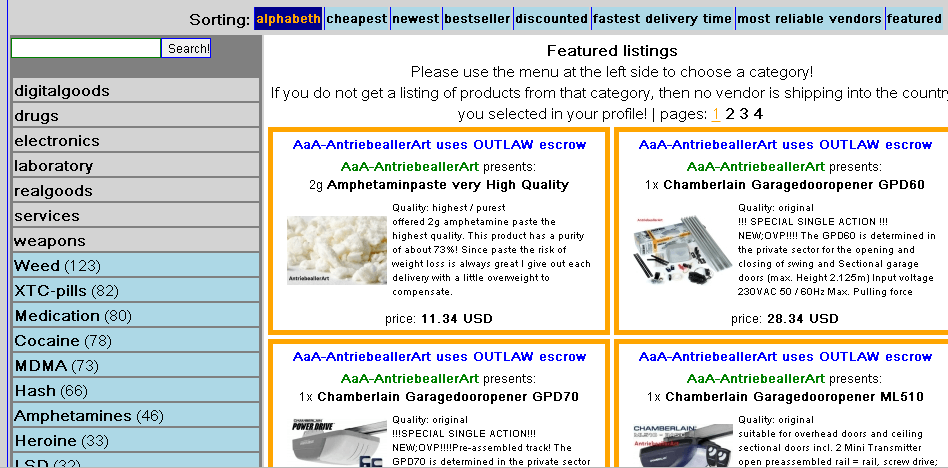 Outlaw Market URL | Reddit | Reviews – Learn How to Buy Drugs from Outlaw Darknet Marketplace