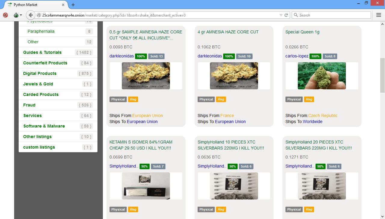 Python Market