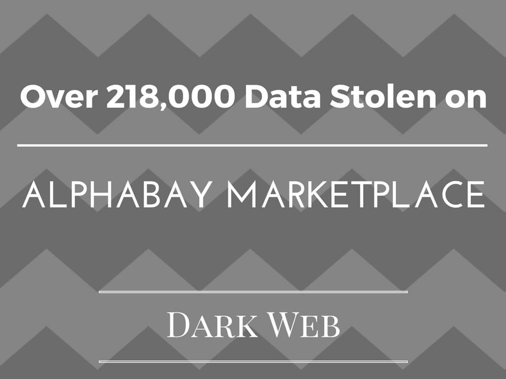 Attacker Gain Access to 218K Private Messages on AlphaBay Dark Web Marketplace