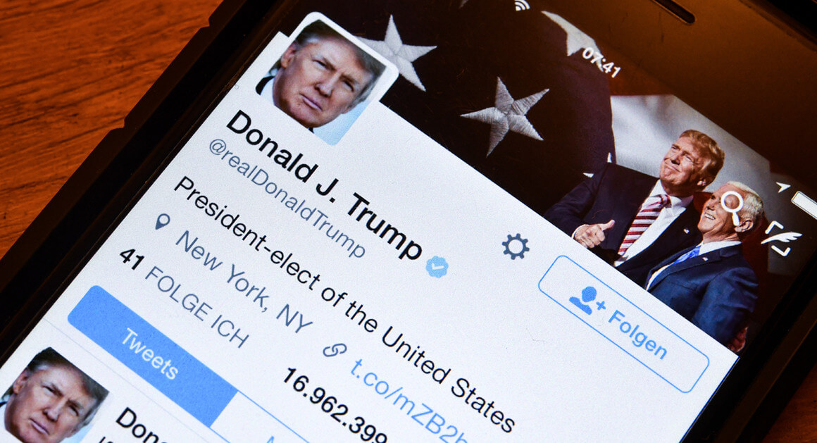Trump's Twitter Account are at Risk of being Hacked, says Anonymous