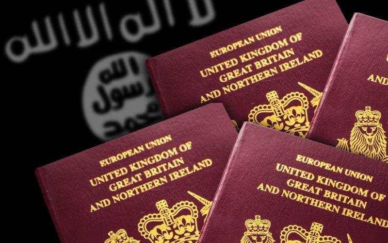 Fake UK Passports
