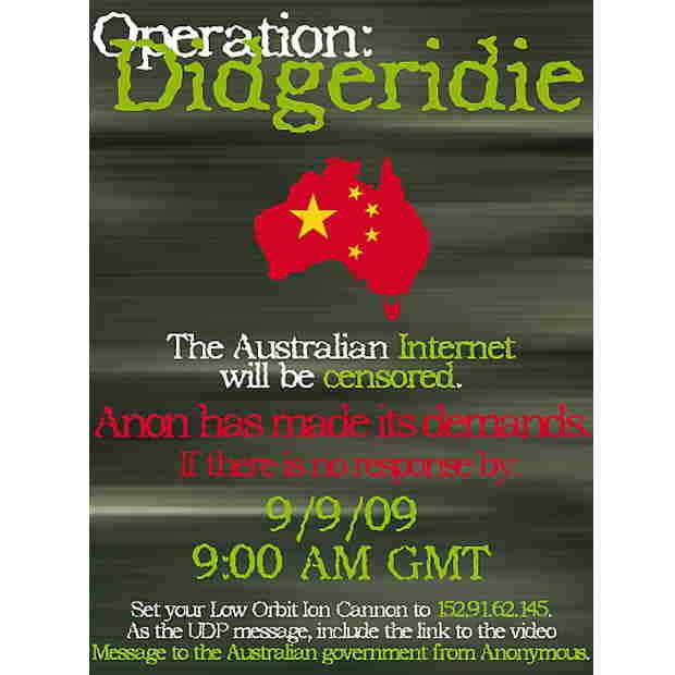 Operation Didgeridie