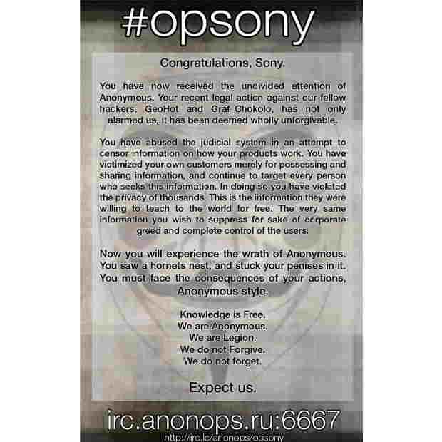 Operation Sony