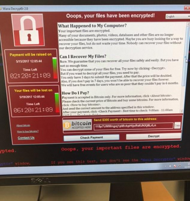 Global Cyber Attack hits around 100 countries using US Spy Hacking Tool; 75,000+ Computers Hacked using 'atom bomb of malware'; Ransomware affects 16 NHS Hospitals