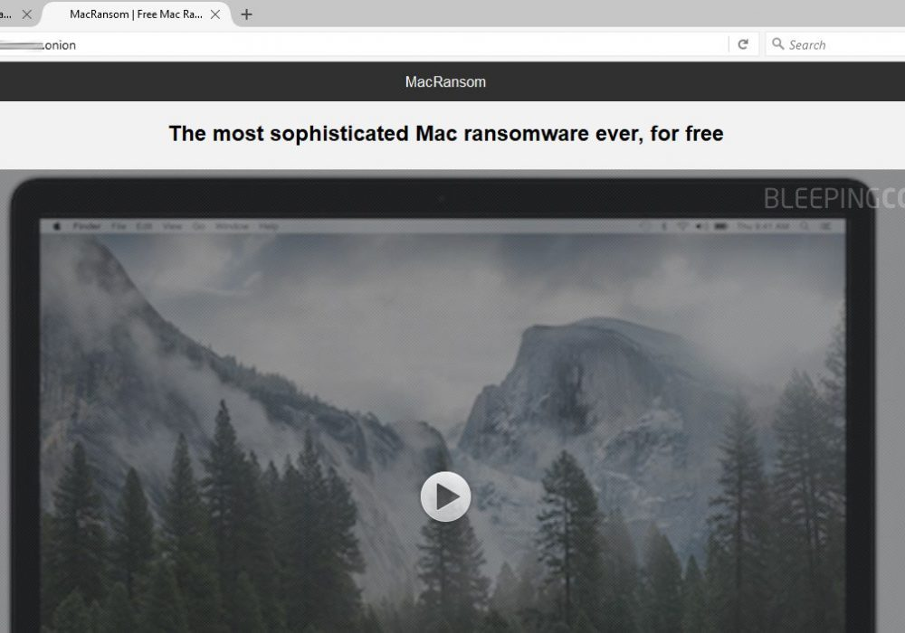 Apple Users Beware: Two New Mac Ransomware found on Dark Web