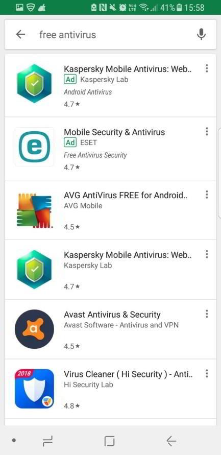 Antivirus Install