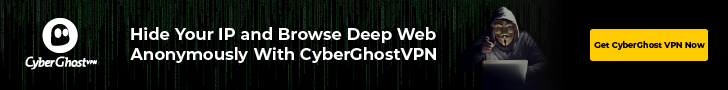 Browse Deep Web using CyberGhost VPN
